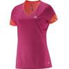 Salomon W's Trail Runner SS Tee Gaura Pink/Coral Punch